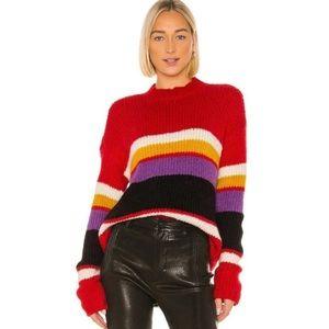 NWT Sanctuary Over the Rainbow sweater medium
